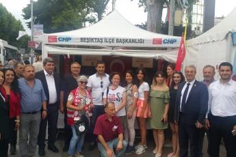 CHP Beşiktaş İlçe Teşkilatı Ve Seçim Çadırlarını Ziyaretimiz.-02