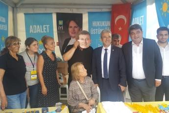 CHP Beşiktaş İlçe Teşkilatı Ve Seçim Çadırlarını Ziyaretimiz.-03