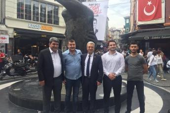 CHP Beşiktaş İlçe Teşkilatı Ve Seçim Çadırlarını Ziyaretimiz.-04