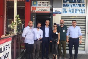 CHP Sultanbeyli İlçe Teşkilatını Ziyaretimiz.-01