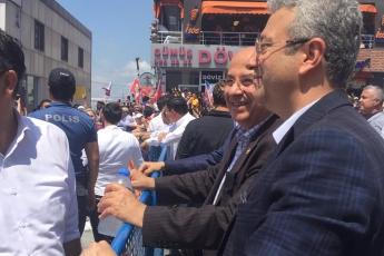 Seçilmiş B.B.Başkanı Ekrem İmamoğlu'nun Sultanbeyli Mitingine Katılımımız.-05