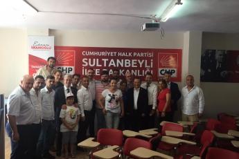 CHP Sultanbeyli İlçe Teşkilatında Mersin ve Diğer İllerden Gelen Partililerimiz İle Birlikteyiz.-01