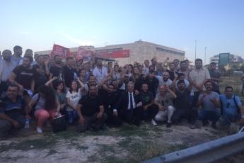 Kesin Olmayan Seçim Sonucu Açıklamasından Sonra CHP Sultanbeyli Seçim Kurulu Önündeyiz.