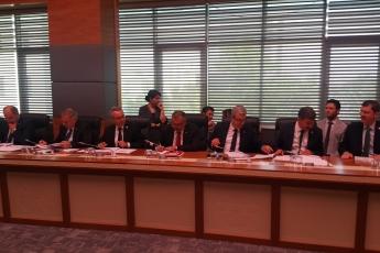 TBMM Adalet Komisyonu'nda Sporda Şiddet ve Düzensizliğin Önlenmesi Hakkında Kanun Teklifini Konuşuyoruz.-01