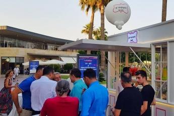 Mersin Marina'da Pioppo Mağazasının Açılışına Katılımımız.-01