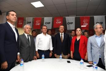 CHP Mezitli İlçe Başkanlığı Olağanüstü Kongresine Katılımımız.-01