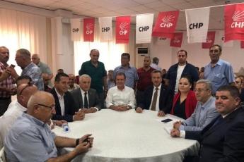 CHP Mezitli İlçe Başkanlığı Olağanüstü Kongresine Katılımımız.-02