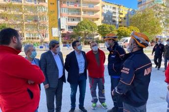 İzmir'de Yaşanan Deprem Felaketini Yerinde İnceledik.