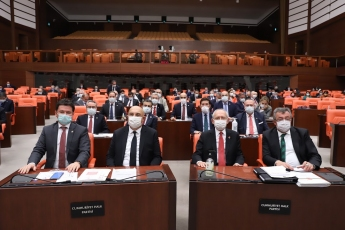 Genel Başkanımız Kemal Kılıçdaroğlu ile birlikte TBMM Genel Kuruldayız.