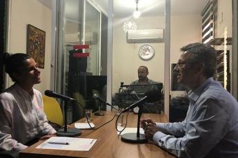 98.5 Kent Radyo'da Sayın Çağla KAYA'nın Konuğu Olarak Katılımımız