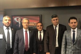 Ankara TBMM Mersin Anamur'lu Hemşehrilerimizin ve Meslektaşlarımızın TBMM'de Ziyareti-01