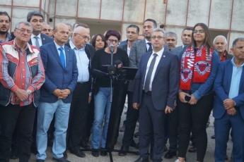 Mersin Tevfik Sırrı Gür Stadyumu Hakkında Basın Açıklamasına Katılımımız.-01