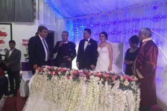 Kemal CEBER oğlu İsa CEBER ve Tuğçe SAYAR'ın Düğün Törenine Katılımımız