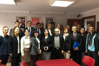 CHP Bandırma İlçe Teşkilatını Ziyaretimiz