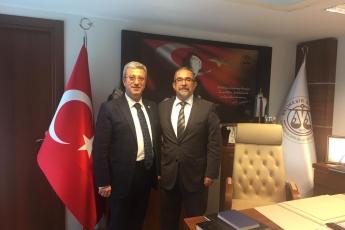 Balıkesir Baro Başkanı Avukat Erol KAYABAY'a Nezaket Ziyaretimiz