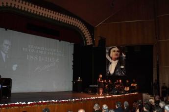 10 Kasım 2019 Atatürk'ün Ölümünün 81. Yılı Anma Programı kapsamında Mersin Kültür Merkezinde yapılan etkinliğe Katılımımız.-03