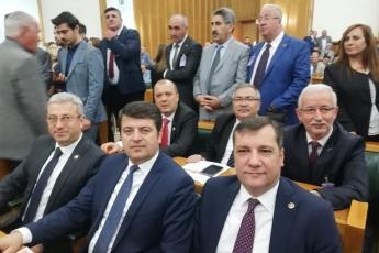 TBMM'de CHP Grup Toplantısına Katılımımız.
