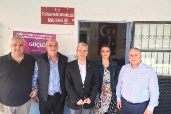 Mersin Turgutreis Mahallesi Muhtarı Ahmet Eldeniz'i Ziyaretimiz.-02