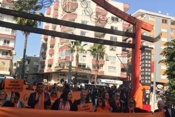 Kadına Şiddete Sıfır Tolerans Toplantı ve Yürüyüşüne Katılımımız.-01