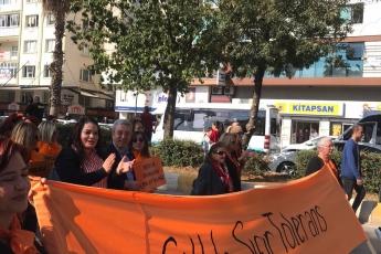 Kadına Şiddete Sıfır Tolerans Toplantı ve Yürüyüşüne Katılımımız.-02