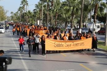 Kadına Şiddete Sıfır Tolerans Toplantı ve Yürüyüşüne Katılımımız.-04