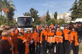 Kadına Şiddete Sıfır Tolerans Toplantı ve Yürüyüşüne Katılımımız.-10