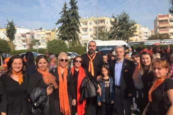 Kadına Şiddete Sıfır Tolerans Toplantı ve Yürüyüşüne Katılımımız.-11