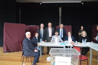 İzmir Karşıyaka Bostanlı Mahallesi Muhtarlık Bölgesi CHP Delege Seçimleri İzleme ve Denetimine Katılımımız.-03