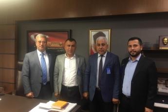 Mersin Akdeniz Belediyesi CHP Meclis Üyesi Bayram Yıldırmaz'ın TBMM'de Bizi Ziyareti.