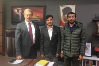 Çankırı Üniversitesinde Okuyan Bedir Aslan ve Sıddık Albayrak'ın TBMM'de Bizi Ziyaretleri.