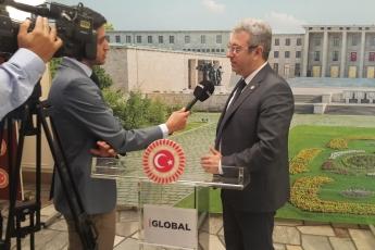 TBMM'de Haber Global TV'ye Alevi Aileye Çirkin Saldırı Hakkında Röportajımız.