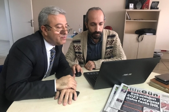 Birgün Gazetesi Ankara Temsilciliğini Ziyaretimiz.-01
