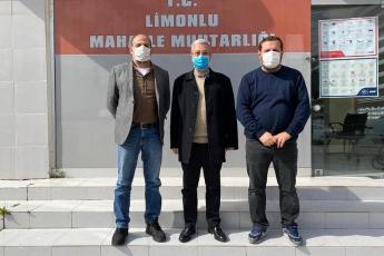 Adanalıoğlu - Limonlu Mahallesi Muhtarımız İsa Sakar - Akdeniz Mahallesi Muhtarımız Cengiz Demir'i ziyaret ettik.