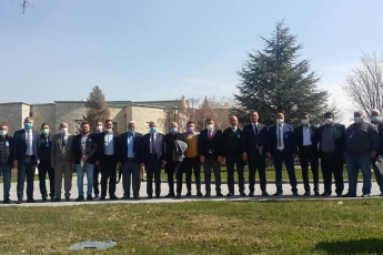 Bugün TBMM'de Mezitli İlçe Başkanımız Ahmet Serkan Tuncer ve Mezitli Mahalle muhtarlarımızı ağırladık.