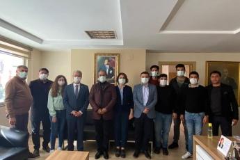 Hukuk ve Seçim İşlerinden Sorumlu Genel Başkan Yardımcılığı bünyesinde bölgedeki hukuk ve seçim örgütlenmesi çalışmalarına yönelik görevlendirilmemiz kapsamında  CHP Adana İl Başkanlığımızı ziyaret ettik.
