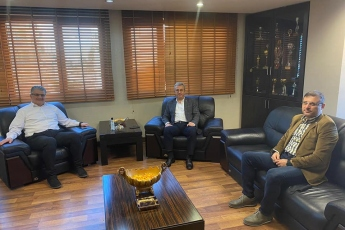 Mersin Serbest Muhasebeci Mali Müşavirler Odası Başkanımız Ersin Gökgün'ü Ziyaret Ederek, Muhasebeciler Haftasını Kutladık.