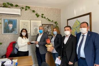 8 Mart Dünya Emekçi Kadınlar Günü vasıtasıyla 50.Yıl Mahalle Muhtarımız Nergiz Özcan'ı ziyaret ettik.