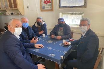Hürriyet Mahallesi muhtarımız Orhan Delil ile birlikte kahveci esnafımızı  ziyaret ettik.