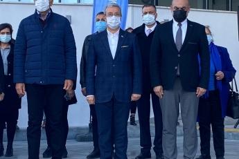 Mezitli Belediyemizin 18 Mart Çanakkale Şehitlerimizi Anma Törenine Katıldık.