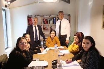 Mezitli Belediye Başkanı ve Adayımız Neşet TARHAN ile Mezitli Belediyesi Fitnat Gürsoy Kafe Kütüphanesini Ziyaretimiz.