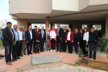 Mezitli Belediye Başkanı ve Adayımız Neşet TARHAN ile Viranşehir Mahallesinde ikamet eden Asker Hakan Başer'i Uğurlama Yemeğine Katılımımız.-02