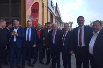 Mersin İl ve İlçe Belediye Başkan Adaylarımız ile Birlikte Bakliyatçılar Sitesi Ziyaretine Katılımımız.-01