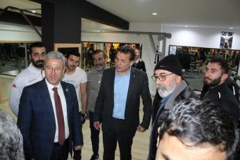 Yenişehir Belediye Başkan Adayımız Abdullah ÖZYİĞİT ile Birlikte Sporcularla Buluşma ve Esnaf Ziyaretine Katılımımız.-02