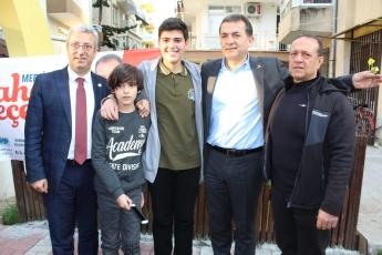 Yenişehir Belediye Başkan Adayımız Abdullah ÖZYİĞİT ile Birlikte Sporcularla Buluşma ve Esnaf Ziyaretine Katılımımız.-05