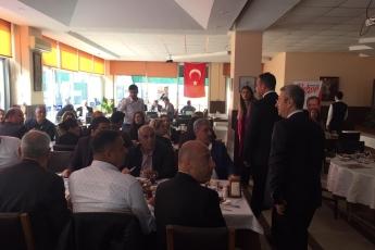 Mersin Büyükşehir Belediye Başkan Adayımız Vahap SEÇER ile Dernekler Platformu Kahvaltısına Katılımımız.-01