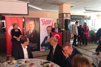 Mersin Büyükşehir Belediye Başkan Adayımız Vahap SEÇER ile Dernekler Platformu Kahvaltısına Katılımımız.-02
