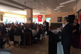 Mersin Büyükşehir Belediye Başkan Adayımız Vahap SEÇER ile Dernekler Platformu Kahvaltısına Katılımımız.-04