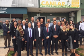 Mersin Büyükşehir Belediye Başkan Adayımız Vahap SEÇER ile Dernekler Platformu Kahvaltısına Katılımımız.-05