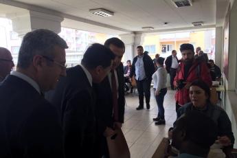 Yenişehir Belediye Başkan Adayımız Abdullah ÖZYİĞİT ile Toros Üniversitesi Ziyaretine Katılımımız.-03
