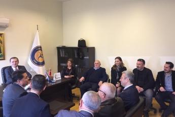 Yenişehir Belediye Başkan Adayımız Abdullah ÖZYİĞİT ile Toros Üniversitesi Ziyaretine Katılımımız.-04